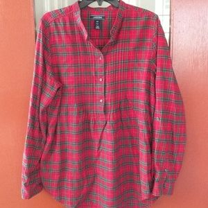 Land End flannel shirt